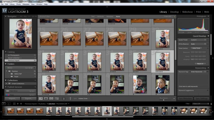 Lightroom 3 Library