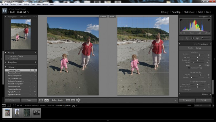 Lightroom 3 Lens Correction