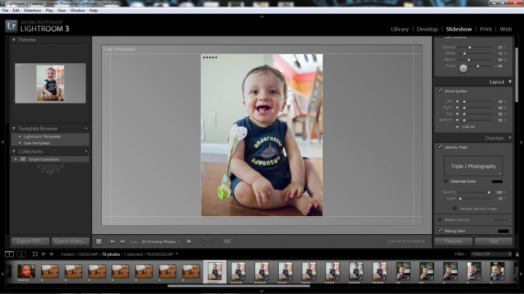 Lightroom 3 Slideshow