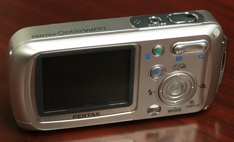 pentax optio wpi