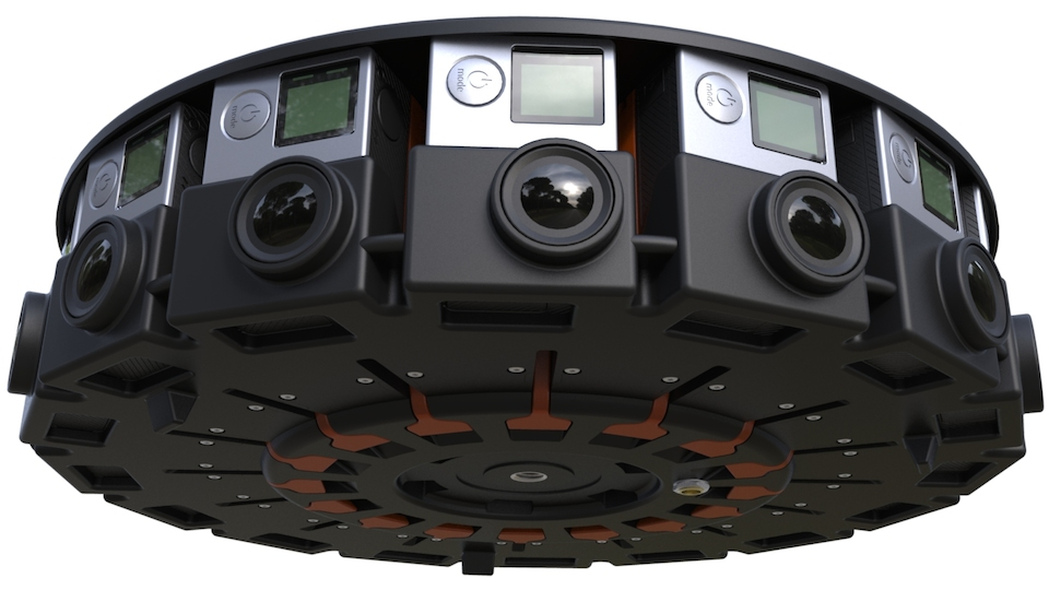 GoPro 360 camera array